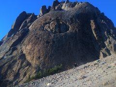 Rock Climbing Photo: bellybutton