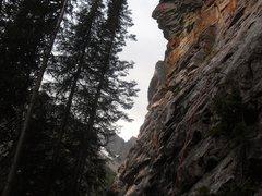 Rock Climbing Photo: Lake Louise / Back of Lake / Outhouse Wall / Men w...