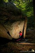 Rock Climbing Photo: Christoph Riedl on 'Rio's Problem' (v8).