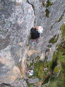 Rock Climbing Photo: Crux.