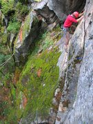 Rock Climbing Photo: Sideways.