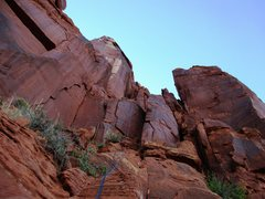 Rock Climbing Photo: The raps off the back with 2x 70M ropes.  With 60'...