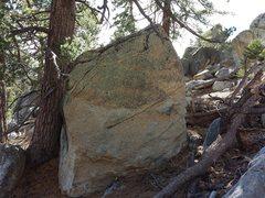 Rock Climbing Photo: Rock Candy Boulder L:Rock Candy Arete V0 R:Arete V...