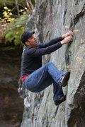 Rock Climbing Photo: Ben Cashman on Notchless