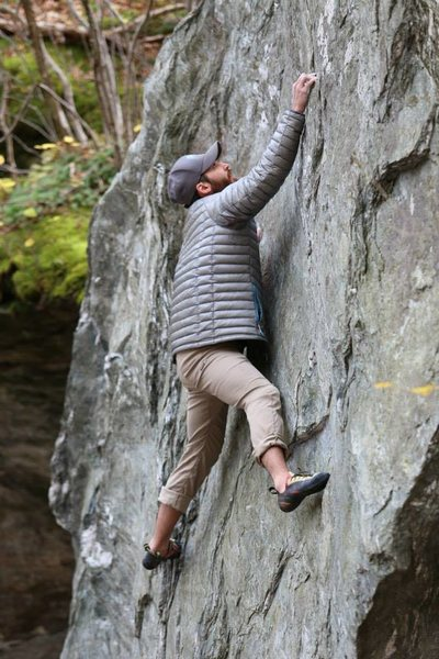 Rock Climbing Photo: What problem is this?