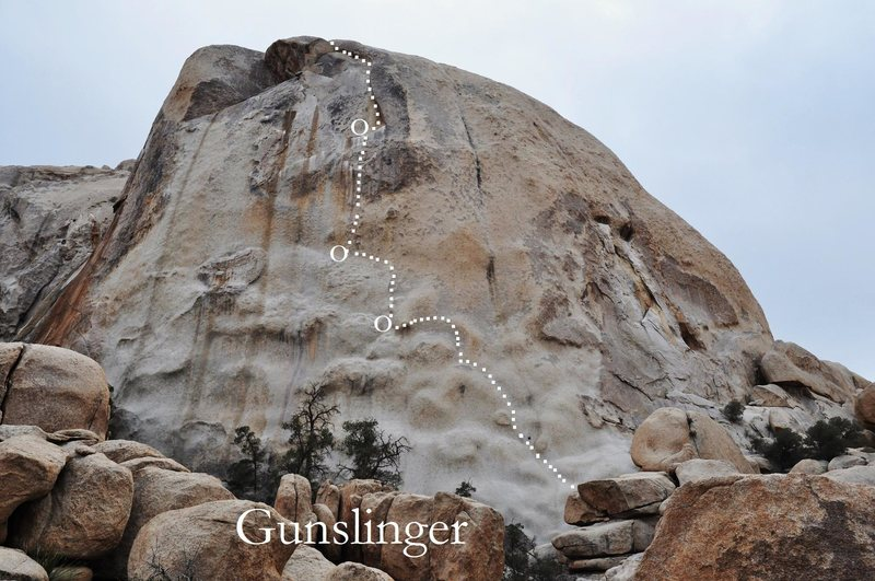 Rock Climbing Photo: Gunslinger