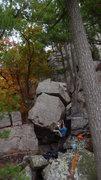 Rock Climbing Photo: Baker sending.