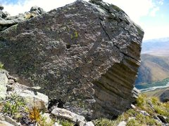 Rock Climbing Photo: Obvious volcanic origins