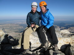 Rock Climbing Photo: on top of Grand Teton