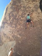 Rock Climbing Photo: Jakob Styles stylin his way up the razors