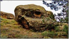 Rock Climbing Photo: Transience problem beta.