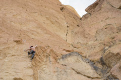 Rock Climbing Photo: Redpoint crux on CUlture of Fear