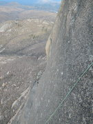 Rock Climbing Photo: The awesome headwall pitch!