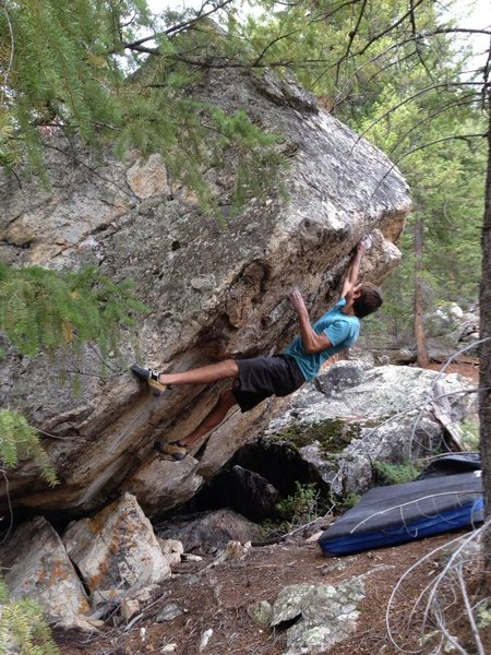 Rock Climbing Photo: Jaws of death V7