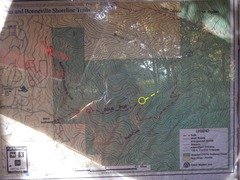 Rock Climbing Photo: Here is the trail map. Cut up and continue followi...