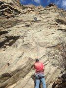 Rock Climbing Photo: According to work we were team building