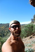 Rock Climbing Photo: My face overlooking Bachelor Pad. Last day in Adel...