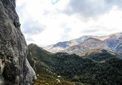 Rock Climbing Photo: Hokey Pokey