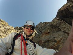 Rock Climbing Photo: Here is a look at the last pitch on the SW side of...