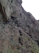 Rock Climbing Photo: Dave on American Nirvana