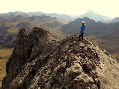 Rock Climbing Photo: coxcomb