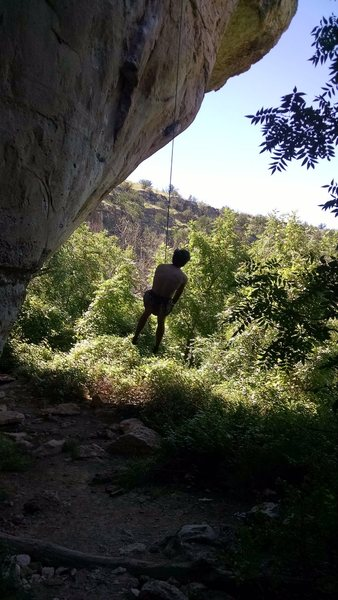 Rock Climbing Photo: woop