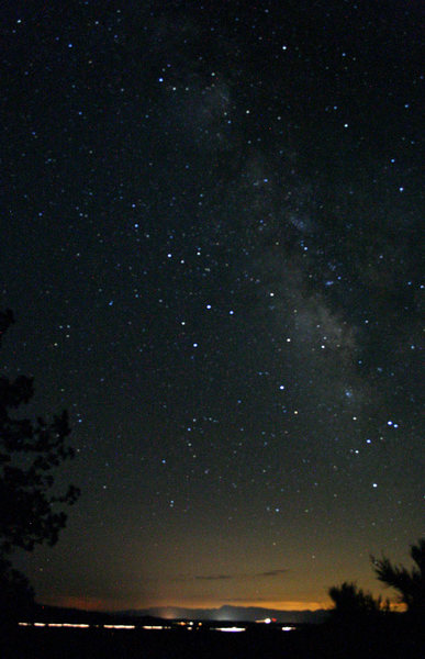 Loved camping a little out of the city, gorgeous view of the stars all night.