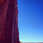 Rock Climbing Photo: Emma Williams on lead