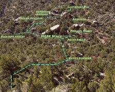 Rock Climbing Photo: Map, thanks Climbing Collective!