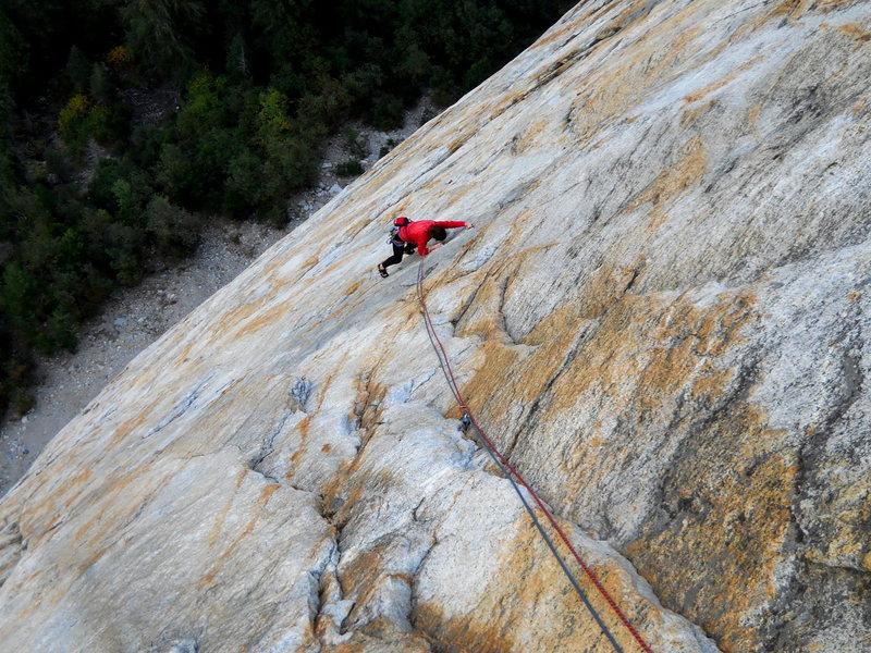 Rock Climbing Photo: Paradise Lost