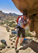Rock Climbing Photo: Turning the corner into the Space Station - Photo ...