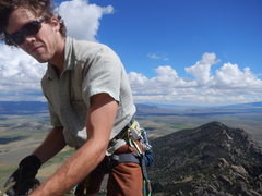 Rock Climbing Photo: atop Steinfell's dome, City of Rocks, ID