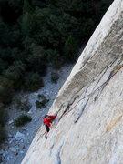 Rock Climbing Photo: Stoner's pitch 3