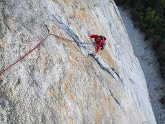 Rock Climbing Photo: Stoner's pitch 4