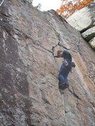 Rock Climbing Photo: Alien Umbrella, after the traverse