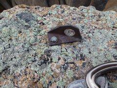 "Rock Climbing Photo: 1/4"" Star-Dryvin bolt"