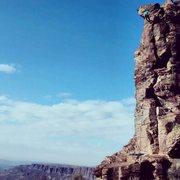 Rock Climbing Photo: Agathla Tower Summit - Oct 18th, 2014