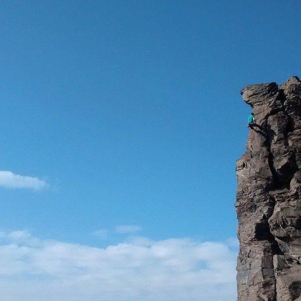 Rock Climbing Photo: Agathla Tower - Oct 18th, 2014