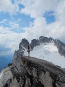 Rock Climbing Photo: Right before a thunder storm rolled in. At the top...