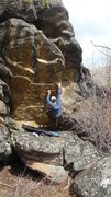 Rock Climbing Photo: Stretch Armstrong v1