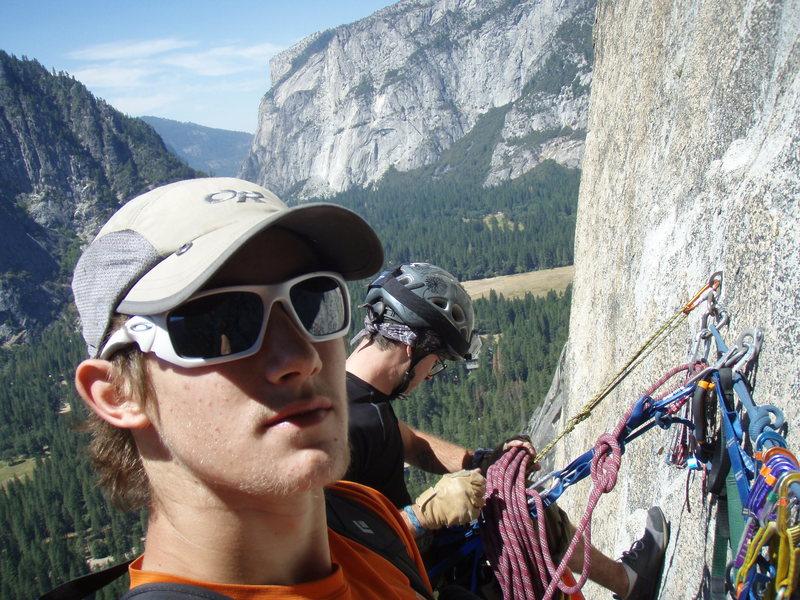 Rock Climbing Photo: south face, washington column