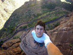 Rock Climbing Photo: Man Eater Tower Summit
