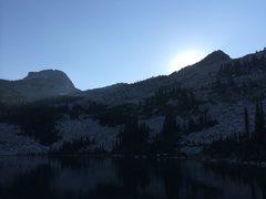Rock Climbing Photo: Beehive Lake
