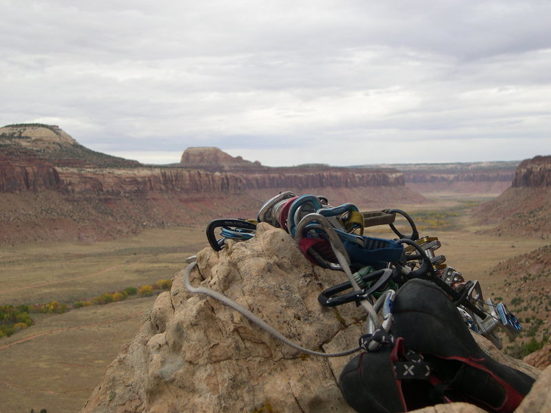 Rock Climbing Photo: View to A Kill at Pistol Whipped