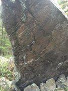 Rock Climbing Photo: Closer view of the face.