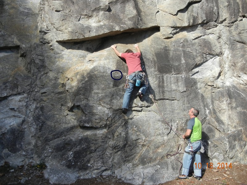 Rock Climbing Photo: This seems to be the move that most climbers are a...