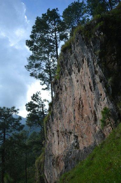 Rock Climbing Photo: Hattiban crag