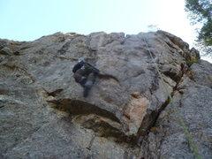 Rock Climbing Photo: Brian getting it done.