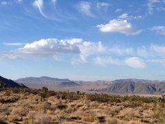 Rock Climbing Photo: Pleasant Valley view, Joshua Tree NP