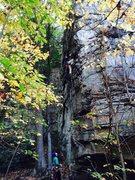 Rock Climbing Photo: JB on 10/20/14